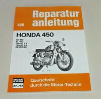 Reparaturanleitung Honda CB 450 / CL 450 / CB 450 K3 / CB 450 K4 / CB 450 K6