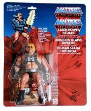 PRE-ORDER MOTU MOC Laser Power He-Man Figure CUSTOM Original Head Masters
