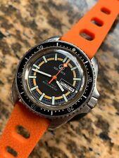 VINTAGE aquadive MONNIN CASE Da Uomo Diver Watch 42mm ETA 2879 SWISS MADE