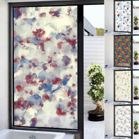 8 sheets 19X27cm each transparent Window Film Self Adhesive Stained Glass ffa3