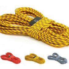20m 8mm Climbing Rope Rappelling Rope Auxiliary Rope Static Rope