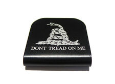 Dont Tread On Me Black Hat Clip for Tactical Patch Caps by Morale Tags