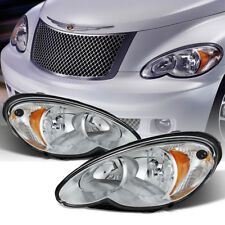 2006 2007 2008 2009 2010 Chrysler PT Cruiser Headlights Headlamps Left+Right Set