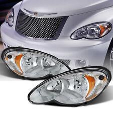 2006 2007 2008 2009 2010 Chrysler Pt Cruiser Headlights Headlamps Left Right Set