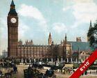 BIG BEN & PARLIAMENT LONDON OLD ENGLAND BRITISH UK ART CANVAS PAINTING PRINT
