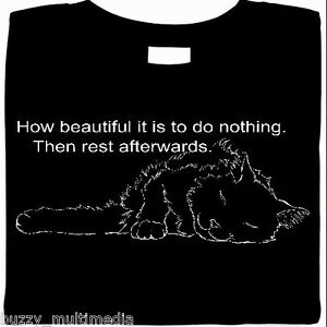 Cat Shirt, Sleep First...Then Rest, Gift for Cat Lovers