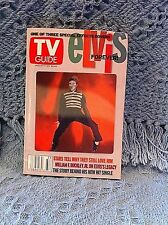 """NOS ELVIS AUGUST 17 - 23, 2002 TV GUIDE 50s 3D PICTURE """"ELVIS FOREVER!"""" (2 OF 3)"""