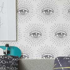 Eye Symbol Stencil All Seeing Eye Home Wall Decor Art Craft Paint Ideal Stencil