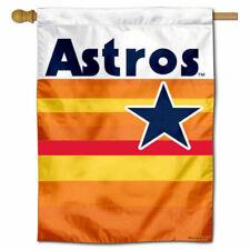 MLB Houston Astros Throwback Vintage Retro House Flag and Banner