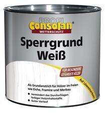 (25,43€/1l) Consolan Profi Sperrgrund weiß 2,5 Liter