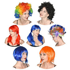 Perruque Pour Fête, Carnaval, Halloween Afro, Bob, Punk ,Clown ,Boucles ,Tresses