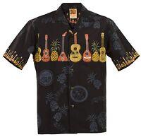 Ukulele Hawaiian Aloha Shirt