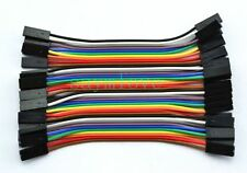 20pcs 2pin 10cm 2.54mm Female to Female jumper wire Dupont cable for Arduino
