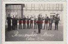 (F9178) Orig. Foto Posaunenchor Meine in Vordorf 1932