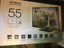 A 55in Hitachi Rear Projection Tv