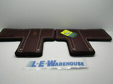 Pair Of Weaver Leather T-Shaped Climber Pads W/ Felt Liner