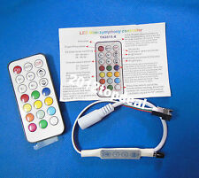 21Key IR-DC7-5V Led Remote Controller With 4 Buttons For Strip WS2812B