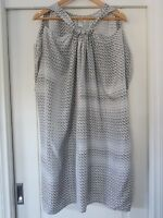 ZIMMERMANN Australia Designer Beach Cover Kaftan Graphic Printed Silk Size 3