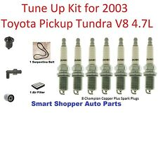 Tune Up For 20003 Toyota Pickup Tundra Spark Plug, Serpentine Belt, Oil Filter