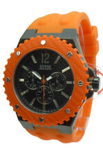 Guess Herrenuhr Multifunktion W11619G4 Overdrive Silikon Armand Uhr Uhren Watch