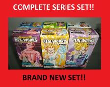 Dragon Ball Z DBZ Real Works COMPLETE Set Series 2 Bandai FIGURE Gashapon NEW!