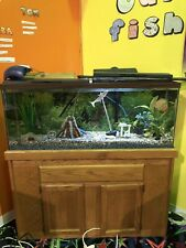 New listing 55 gallon fish tank With Stand