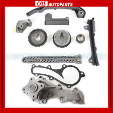 Timing Chain Kit & Water Pump For 00-06 Nissan Sentra XE GXE 1.8L QG18DE Engine