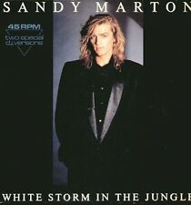 SANDY MARTON - White Storm In The Jungle - CBS