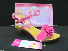 #TheBestSeller 50% OFF+FREE BAG! DISNEY PRINCESS FUCHSIA SANDALS SHOES 35/8-10YO
