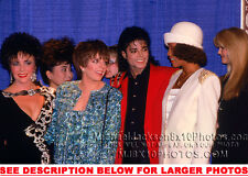 MICHAEL JACKSON with WHITNEY HOUSTON and FRIENDS  (1) RARE 8x10 PHOTO