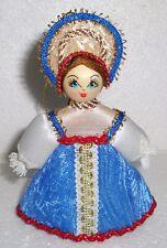 "Beautiful Russian Doll ~ Christmas Ornament ~ 4.5"" ~ NEW ~ N/R"