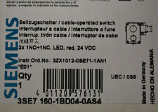 Siemens 3SE7160-1BD04-0AS4 Cable-Operated Switch - 3SE71601BD040AS4 - NEW
