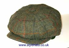 News Boy Baker Boy Hat for Mens Tweed Cap by G&H