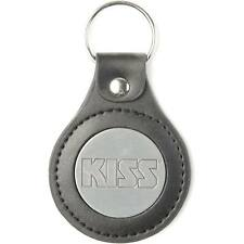 KISS Logo Metal Key Chain Silver
