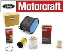 03-07 6.0L Ford Powerstroke Diesel OEM Motorcraft Oil,Fuel & Air Filter (3475)