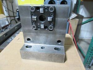 System 3R Macro Machining Block 3R-610.21 MOUNTED TO 90 DEG ANGLE PLATE