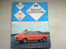 REVUE TECHNIQUE N° 104  -  VOLKSWAGEN PASSAT    - 1974  *