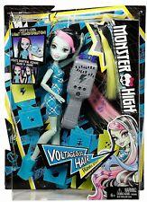 Monster High FRANKIE STEIN Doll Voltageous Hair Set NEW 2015 Stencil Style