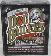 Doc Bailey's Leather Black New ~119