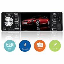 Radio audio coche reproductor para autos estereo MP5 FM Bluetooth 1DN HD 4.1""
