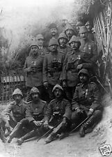 "Mehmed Esad Pasha & Men Ottoman Turkey World War 1 Photograph, 5.5x4"" Reprint1"