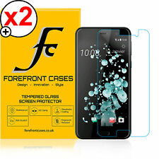 Forefront Fundas 9H HD Protector de Pantalla de Cristal Templado HTC U Play X 2