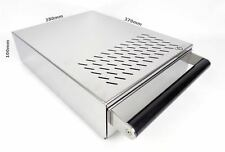 Coffee Knock Out Box Drawer Under Grinder Grounds Espresso Waste Stainless Steel