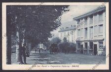 PAVIA SALICE TERME 68 VILLA ROVATI - MAGAZZENO MODERNO Cartolina viaggiata 1922