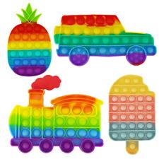 Fidget Toy Push it Pop it bubble Dino Einhorn Flamingo Pony Krebs Auto Virus Lok