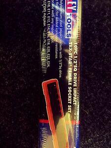 (SBS) Sealey Impact Torx Star Female Socket Set 1/2 Drive  E10 - E24