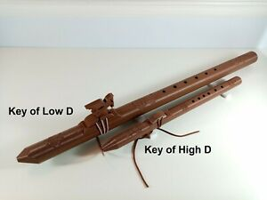 Bundle Deal - Native American Style Flute, Key of low D & high D