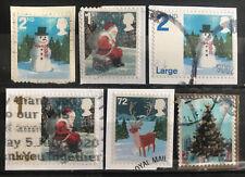 2006 Gb Christmas Scenes Used Stamp Set Sg 2678 2683