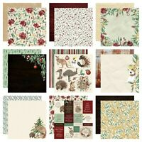 "Kaisercraft Under the Gum Leaves 12x12"" - Double Sided Craft Scrapbooking Paper"