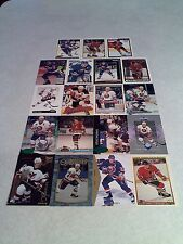*****Steve Thomas*****  Lot of 125+ cards.....72 DIFFERENT / Hockey